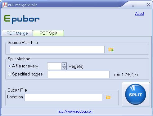 Epubor PDF Merge&Split