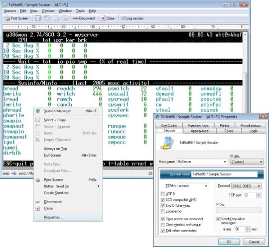 Erics TelNet98 (64-bit)