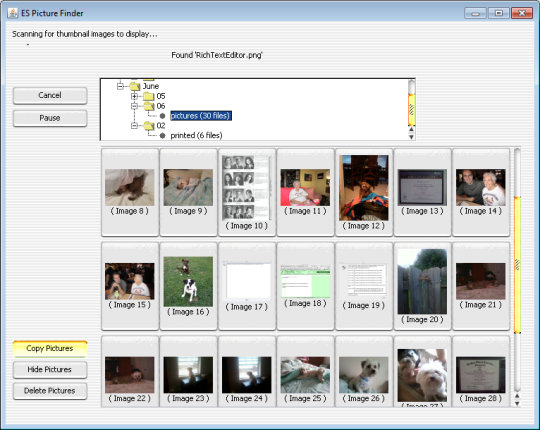 ES Picture Finder