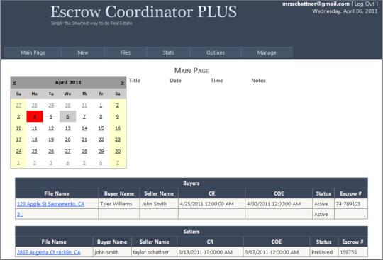Escrow Coordinator Plus
