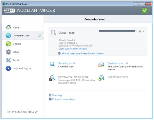 ESET NOD32 Antivirus 8 (64-bit)