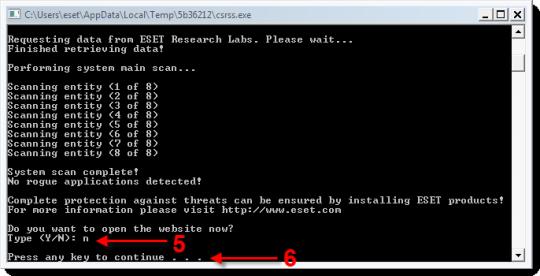 ESET Rogue Applications Remover (64-Bit)