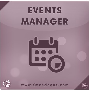 Events Manager OpenCart Module