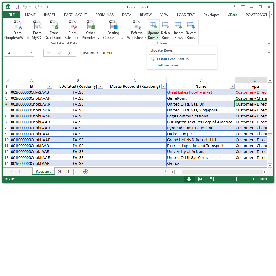 Excel Add-In for Google Search