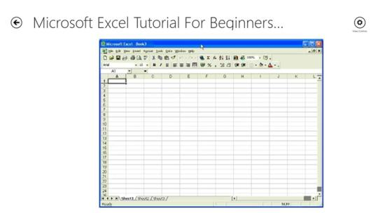 Excel and Access Training for Windows 8