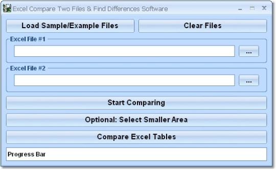 Excel Compare Two Files & Find Differences Software