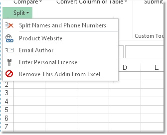 Excel Split Names and Phone Numbers Software