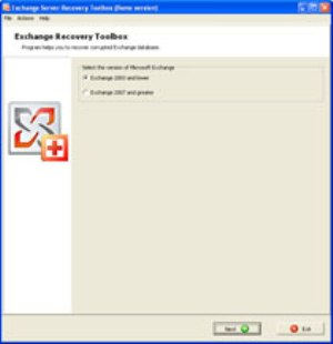 Exchange Server Recovery Toolbox