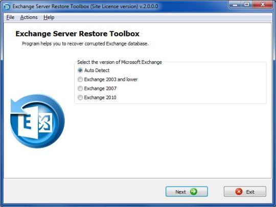 Exchange Server Restore Toolbox