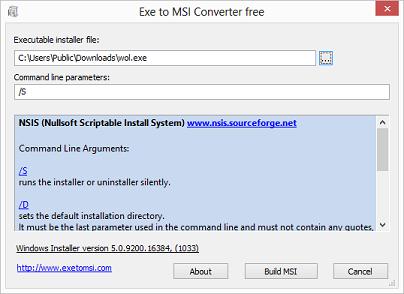 Exe to Msi Converter Free