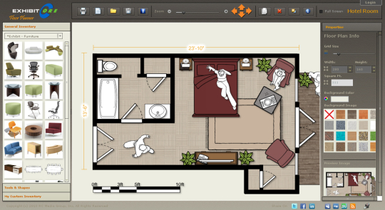 Exhibitcore Floor Planner For Web
