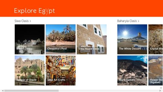 Explore Egypt for Windows 8