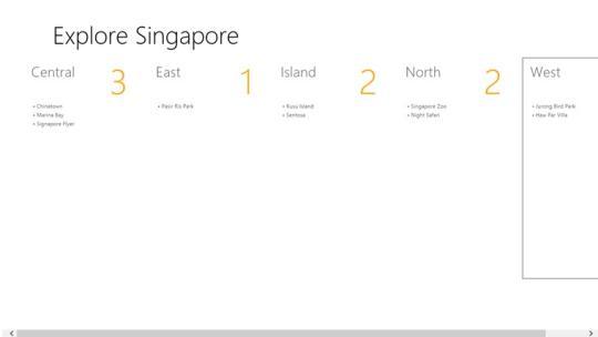 Explore Singapore for Windows 8