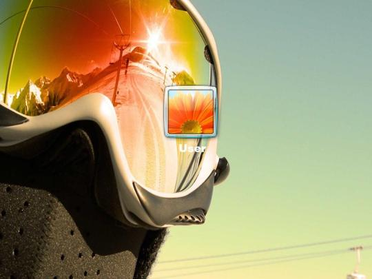 Extreme Snowboard Logon Screen