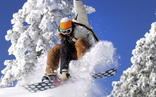 Extreme Snowboard Windows Theme