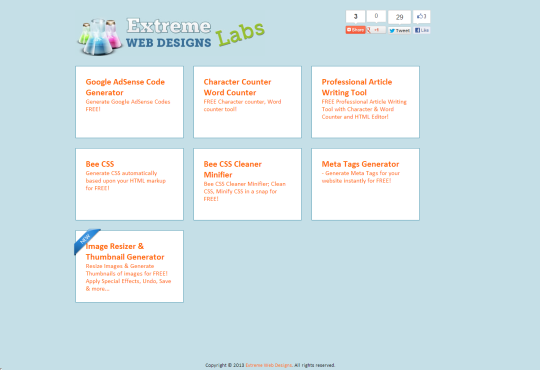 Extreme Web Designs Labs