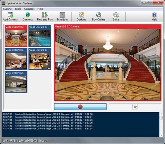 EyeLine Video Surveillance System