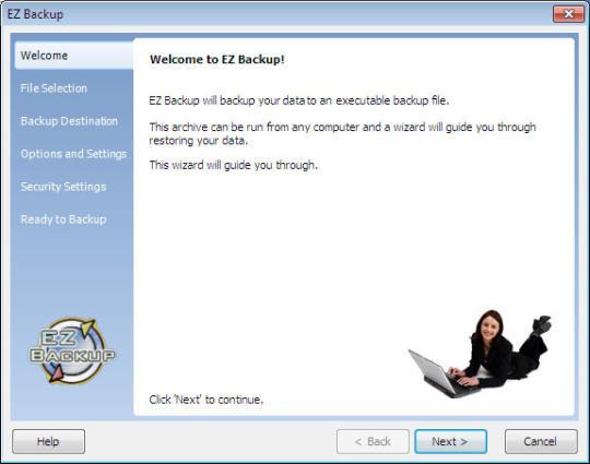 EZ Backup IE and Windows Mail Premium