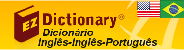 EZ Dictionary: English - English - Portuguese