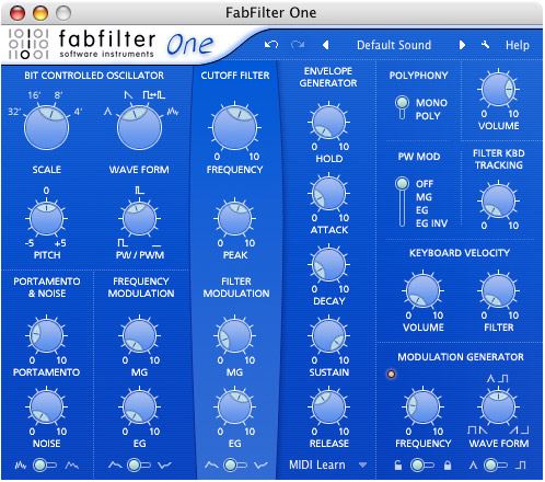 FabFilter One (32 bit)
