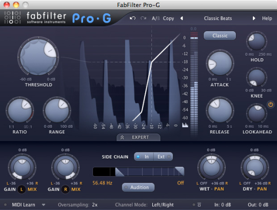 FabFilter Pro-G (32 bit)