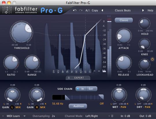 FabFilter Pro-G (64 bit)