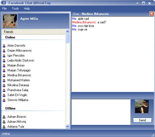 Facebook Chat Desktop