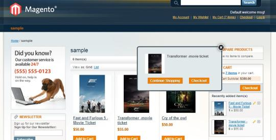 Facebook Like in Magento Cart