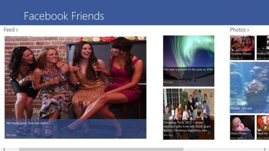 Facebook+ Lite for Windows 8