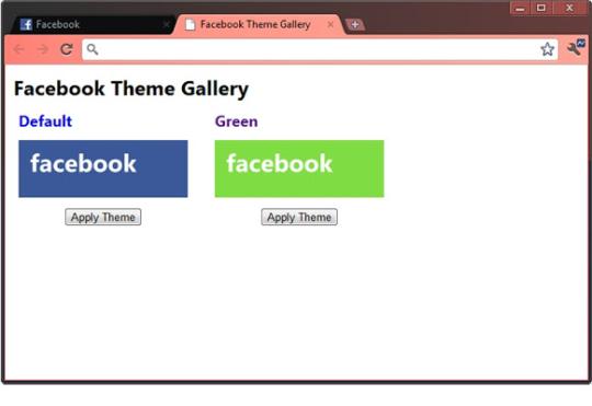 Facebook Themes