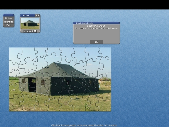 Family Tent Puzzle 3