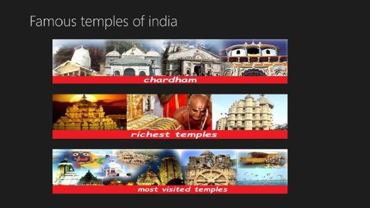 Famous Temples Of India for Windows 8