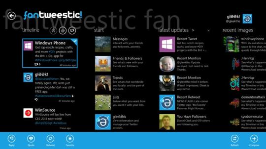 fantweestic for Windows 8