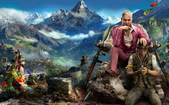 Far Cry 4 Theme HD Backgrounds