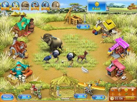 Farm Frenzy 3 Madagascar Game