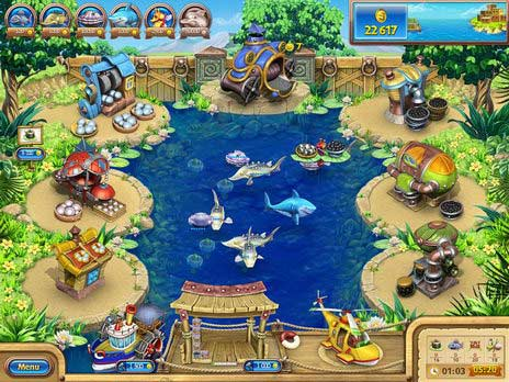 Farm Frenzy Gone Fishing Game
