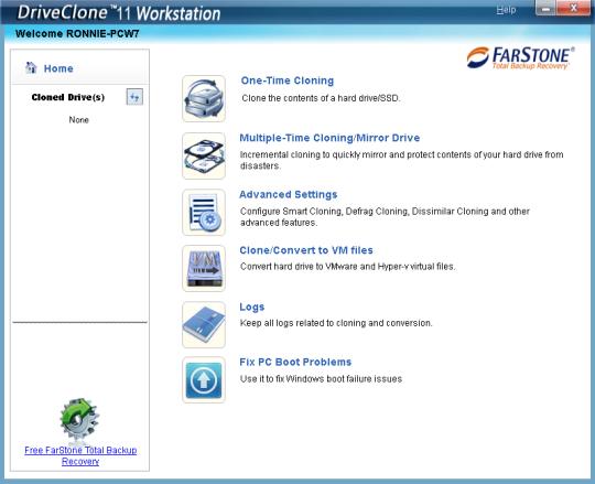FarStone DriveClone Free