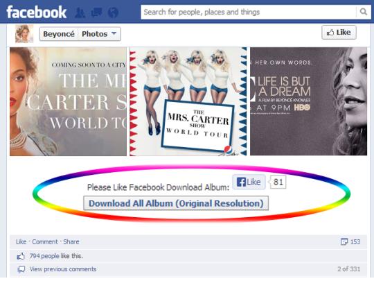 FB Album Downloader