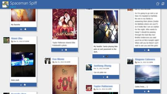 Feed for Facebook for Windows 8