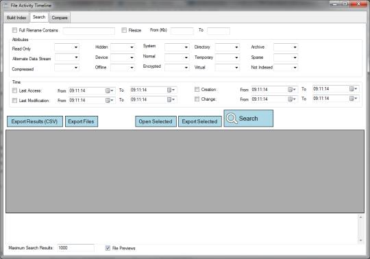 File Activity Timeline Portable