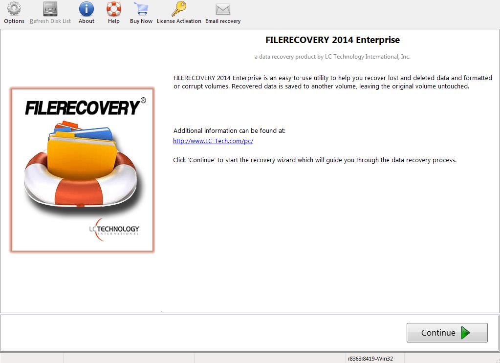 FILERECOVERY 2016 Enterprise (PC)