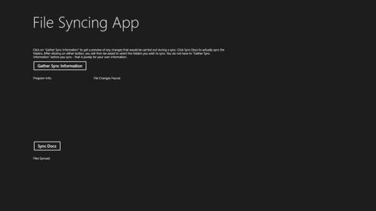 FileSync for Windows 8