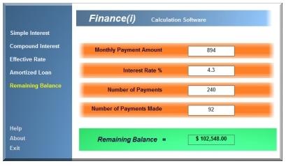 Finance(i)