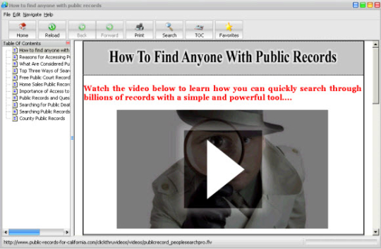 Find Anyone With Public Records