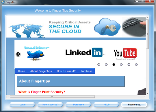 Finger Tips Security