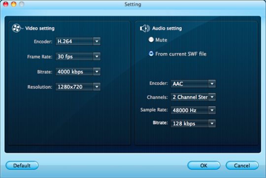 Firecoresoft SWF Converter for Mac