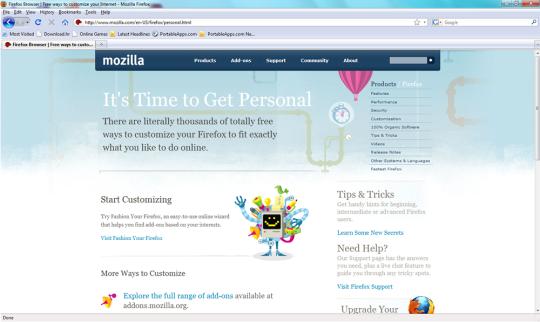 Firefox Portable Plus