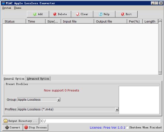 FLAC Apple Lossless Converter