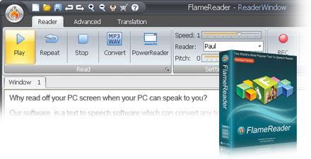 FlameReader