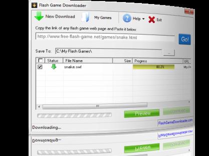 Flash Game Downloader